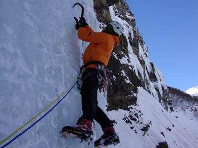 Alagna Ice Climbing