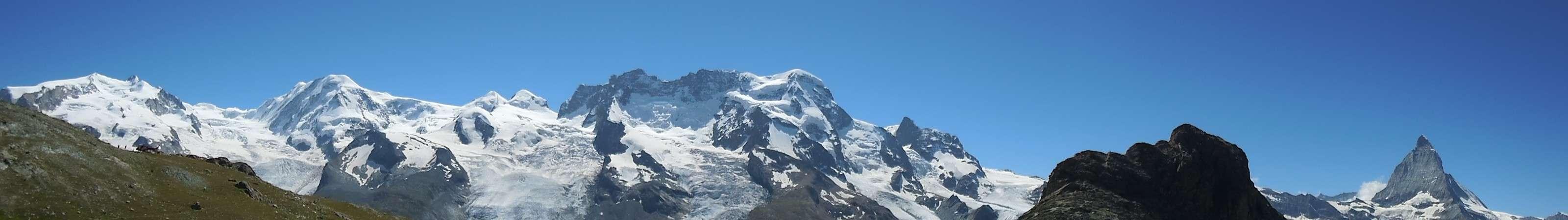 Monte Rosa, Matterhorn, Zermatt