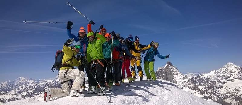 Monte Rosa Ski Touring First Tracks