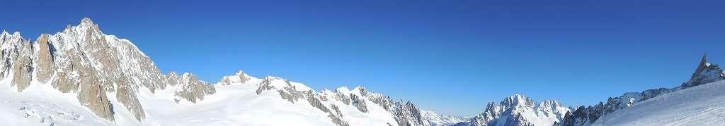 Mont Blanc - Vallée Blanche