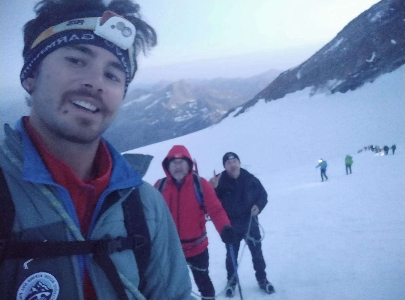 Gioele al Monte Rosa